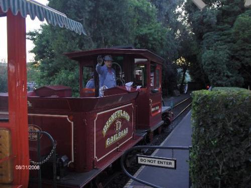 disneyland conductor